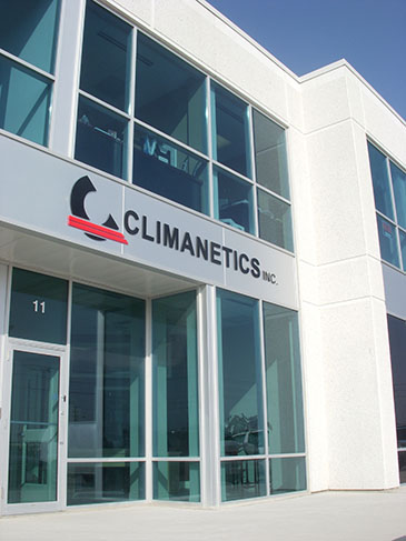 Climanetics office exterior building