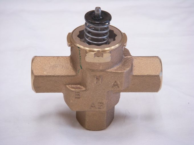 Honeywell 3 way valve body
